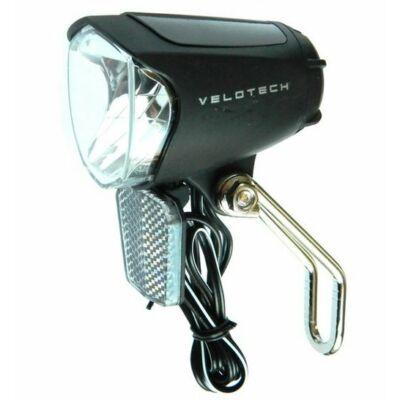 Velotech Első lámpa dinamós prizmával