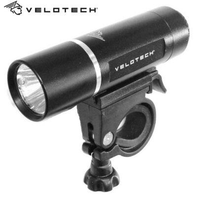 Velotech Lámpa első 3W LED alu