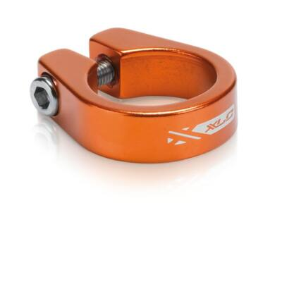 XLC Nyeregcsőbilincs 31,8 mm narancs PC-B05