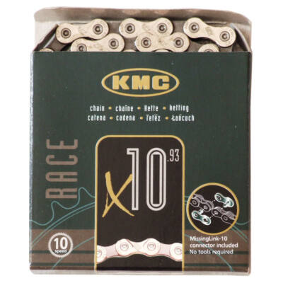 KMC X10 ezüst