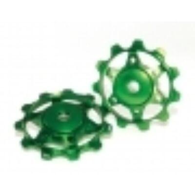 XLC Váltógörgő zöld PU-A02