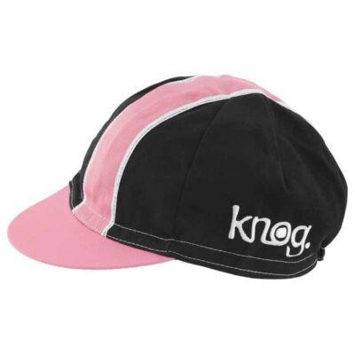 Knog RUHÁZAT SAPKA fekete, fehér-pink csíkkal