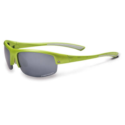 Merida Szemüveg ME16 matt zöld keret , cserélhető lencse, kemény tok