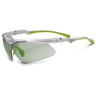 Merida Szemüveg ME16 fényes fehér, zöld lencse, tasak