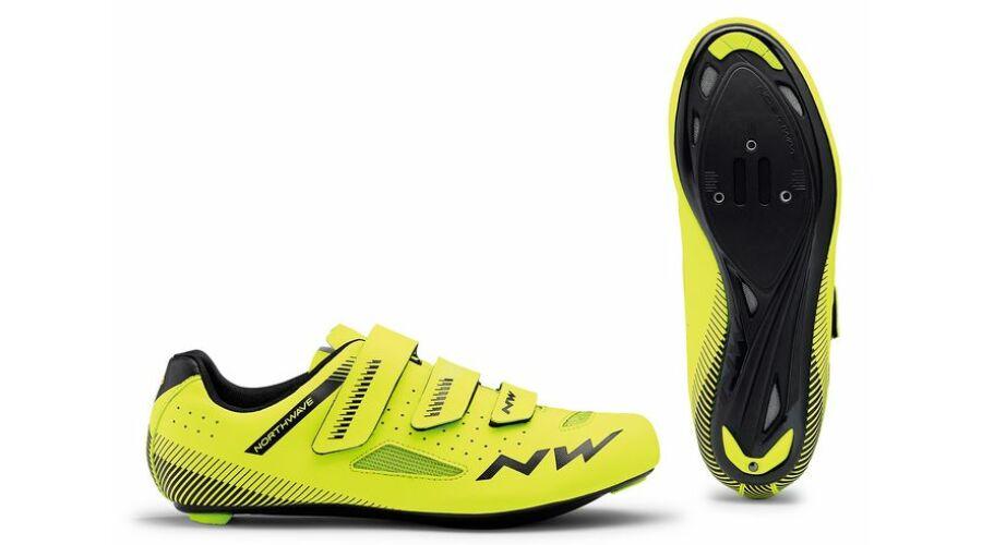 NORTHWAVE Cipő ROAD CORE 3S fluo sárga-fekete  68e6c1b146