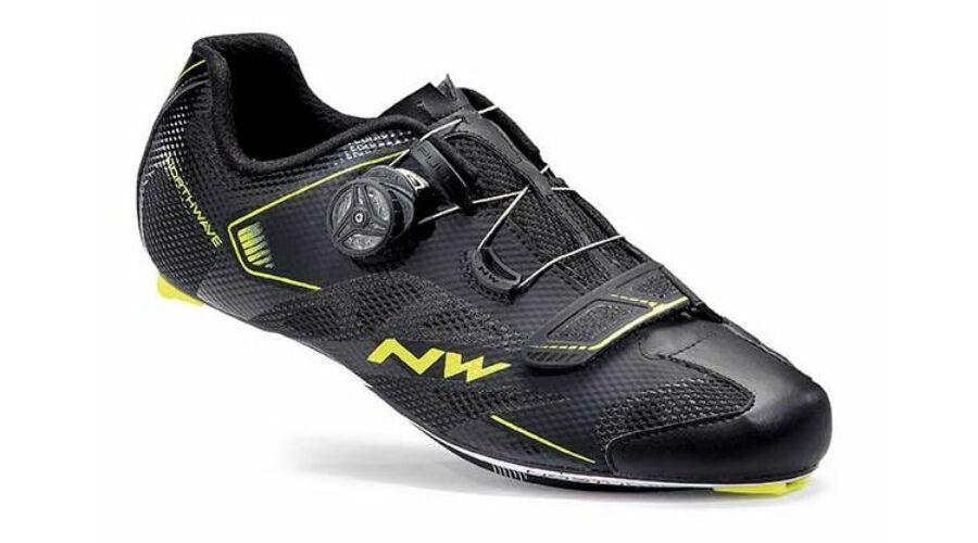 b2ea21b95214 Northwave Cipő ROAD SONIC 2 PLUS fekete/sárga   Kerékpáros cipők ...