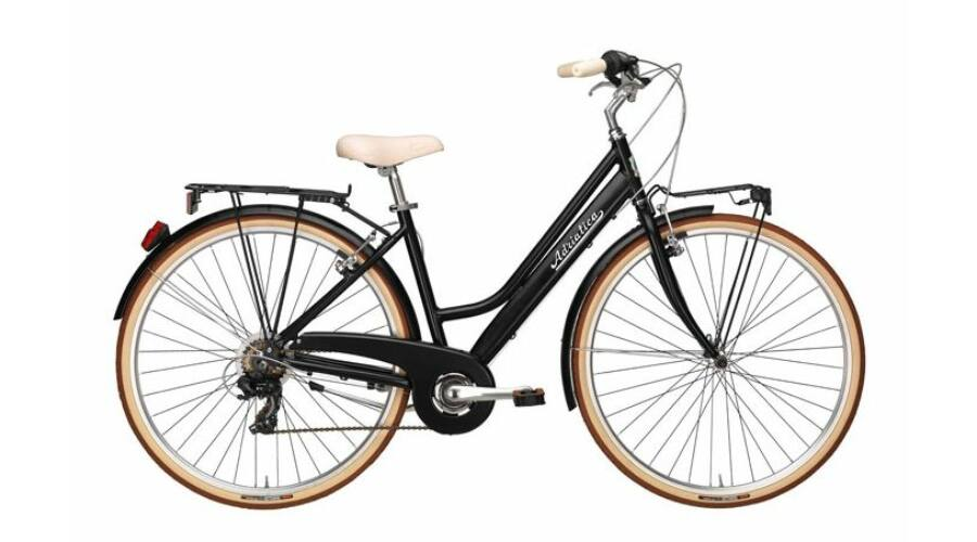 ADRIATICA RETRO 28 quot  6s 2018 női City Kerékpár fekete 7691bb1b14