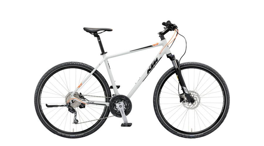 319ab12838c KTM LIFE ROAD 27 DISC 2019 férfi Cross Kerékpár lightgrey matt  (black+orange)