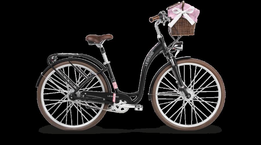 Le Grand Lille 7 2018 női City Kerékpár black matte bfde36280c