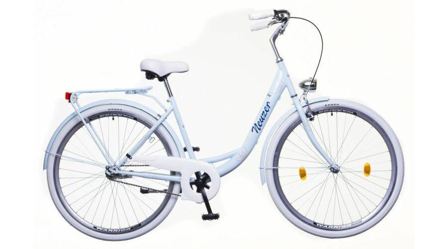 Neuzer Balaton Premium 28 1S női City Kerékpár babyblue kék-barna 695408f9c0