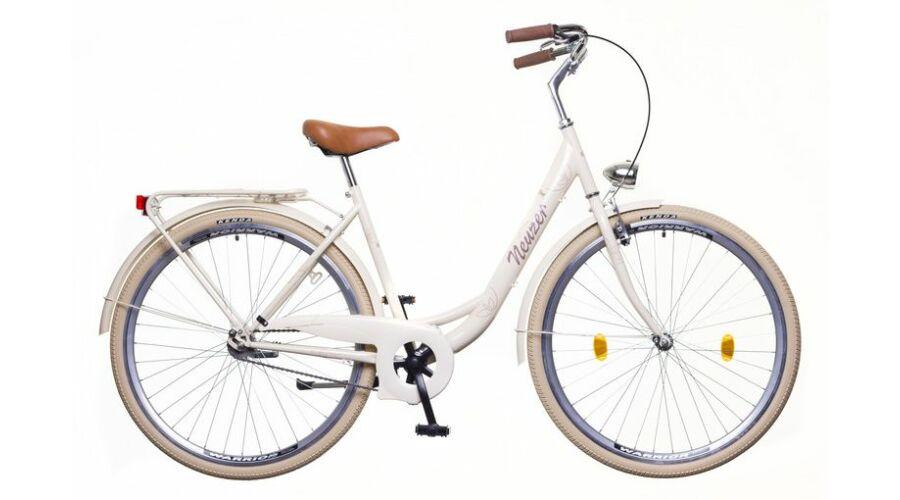 Neuzer Balaton Premium 28 1S női City Kerékpár krém barna-barna 52f2cffc86