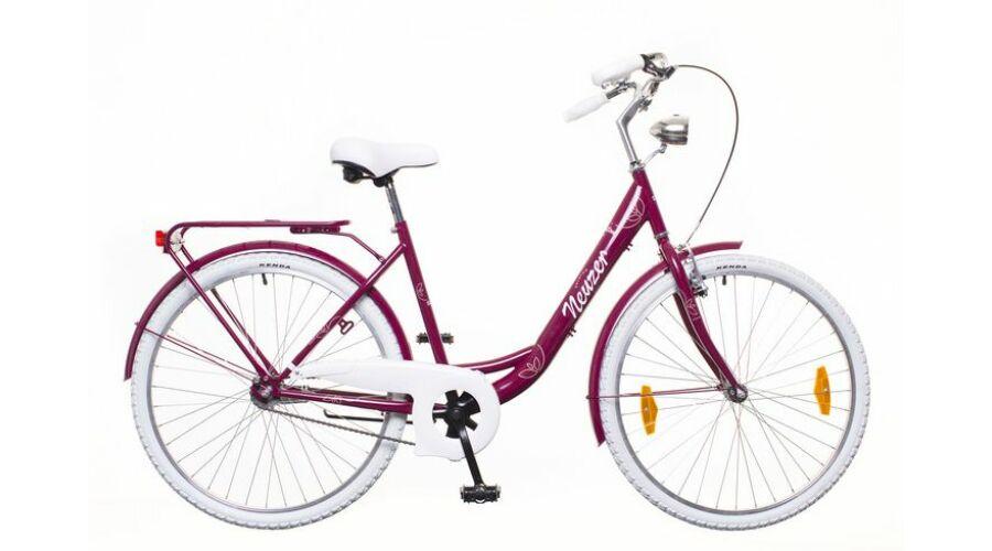 dcea626c65d7 Neuzer Balaton Premium 28 1S női City Kerékpár padlizsán/fehér-barna Katt  rá a felnagyításhoz