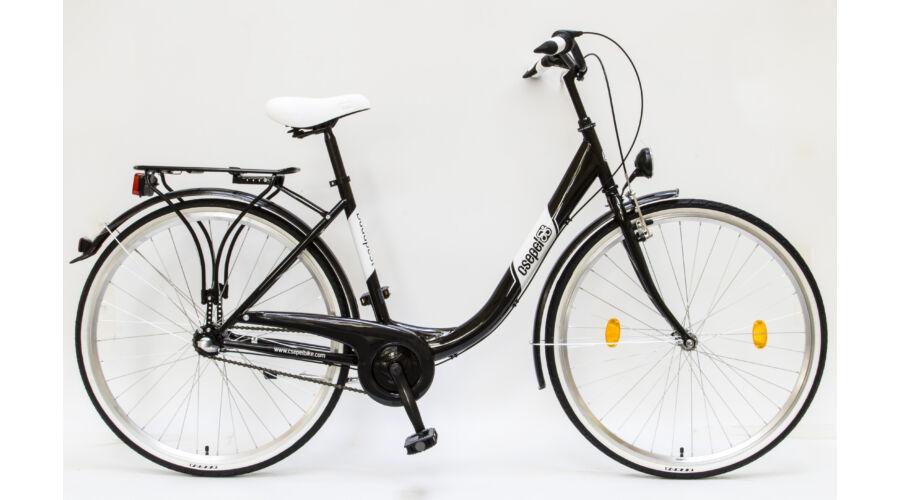 Schwinncsepel BUDAPEST B 28-19 N3 16 női City kerékpár fekete d450f3f023