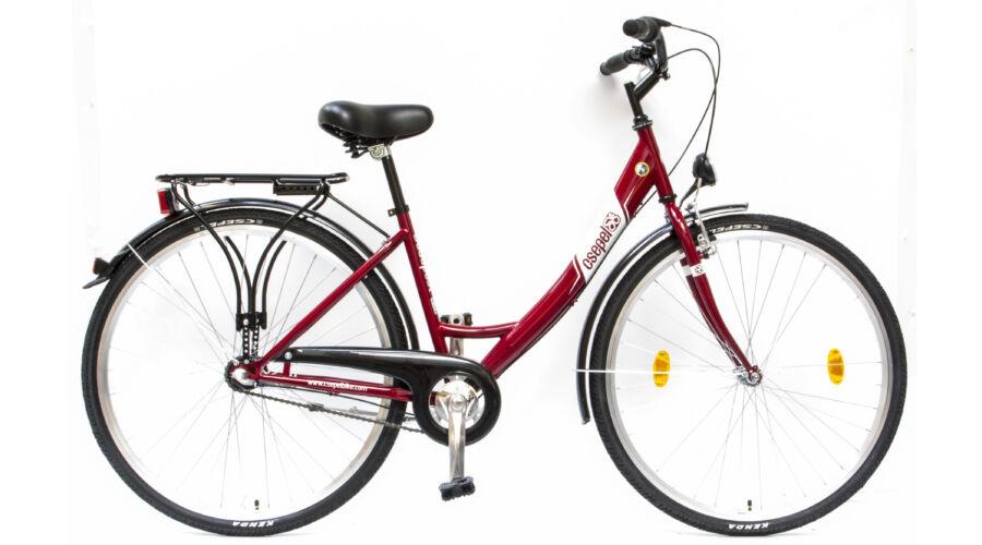 Schwinncsepel BUDAPEST A 28 17 N3 2017 Női City Kerékpár piros a2d63a280c